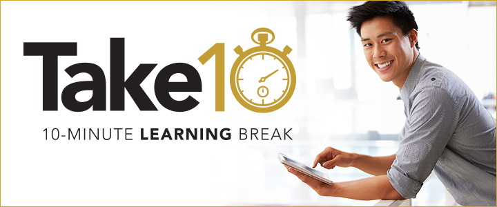 Take 10: 10 minute learning break